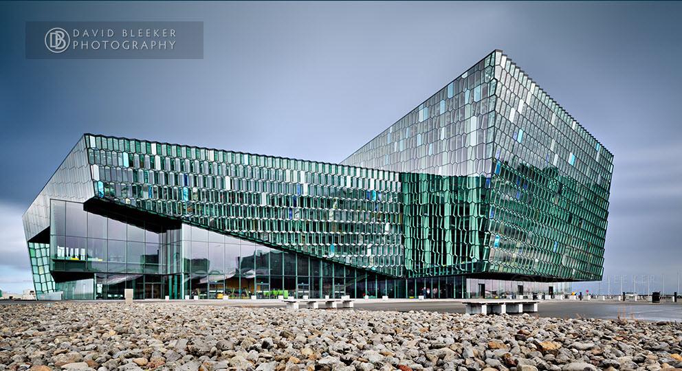 Harpa, centre de congrés et de concerts à Reykjavik - Islande 2019-068