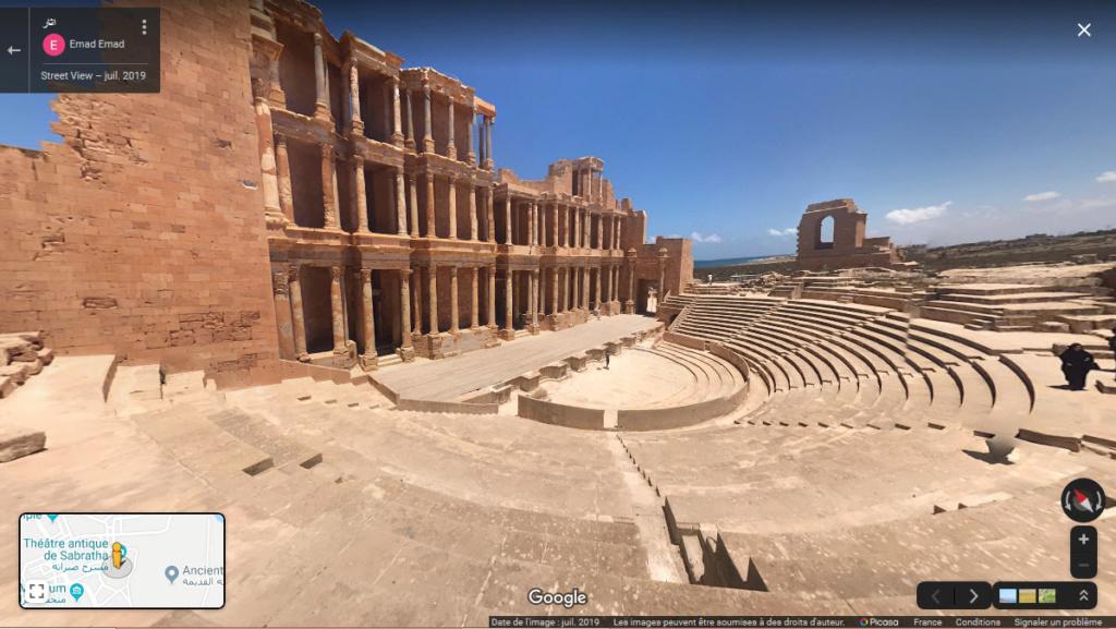 Théatre antique de Sabratah (Lybie) 2019-089
