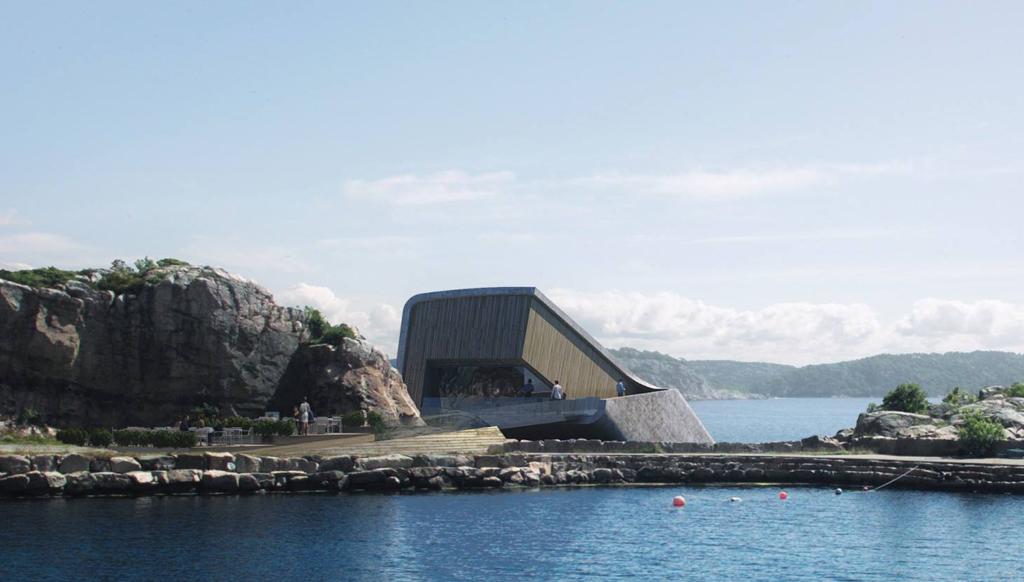 (Bientôt visible sous GE) Under, le restaurant sous-marin - Båly - Norvège 22713310