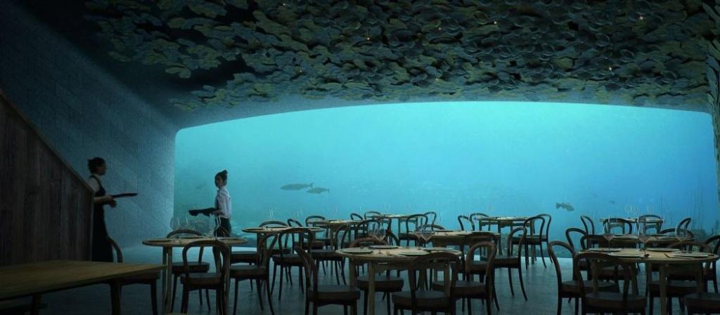 (Bientôt visible sous GE) Under, le restaurant sous-marin - Båly - Norvège 32f5cf10