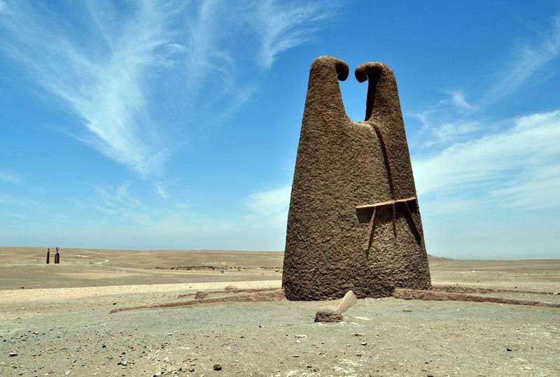 Les sculptures d'Arica - Chili 47704510