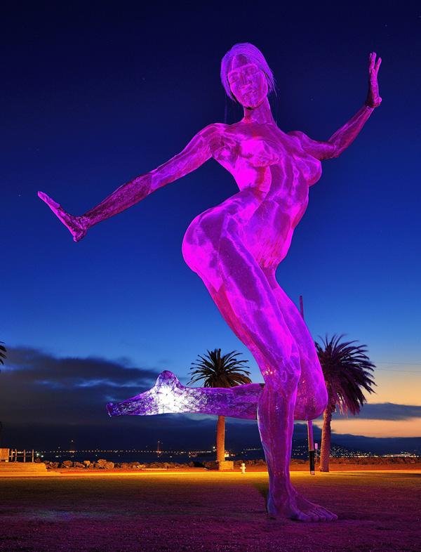 Sculpture Bliss Dance (Marco Cochrane) à San Francisco - USA 88726110