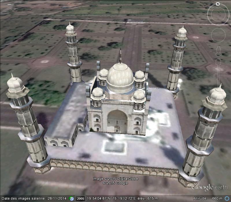 Bibi Ka Maqbara, l'autre Taj Mahal - Aurangabad - Inde Aaaaaa19