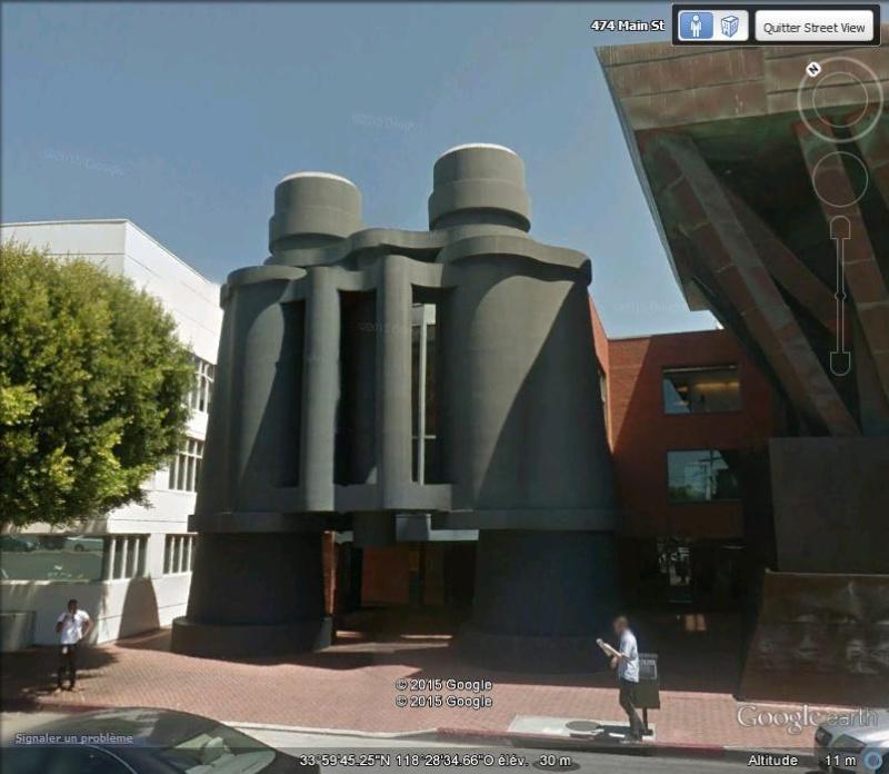 Jumelles à Santa Monica, Califormnie - Etats-Unis Ab10