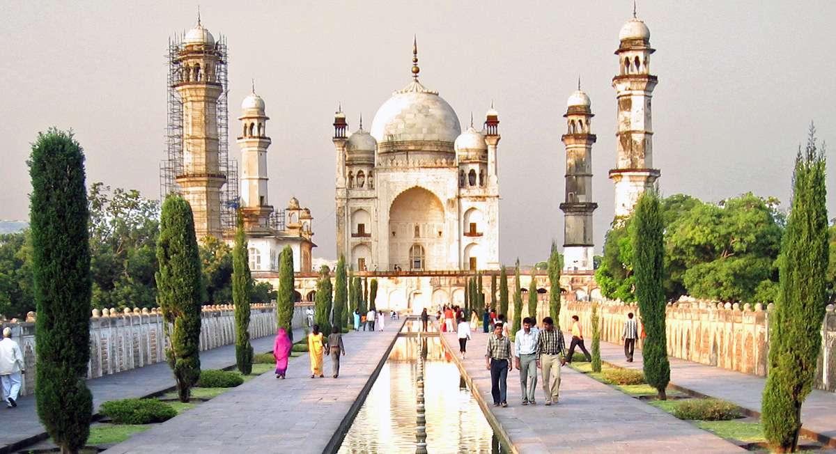 Bibi Ka Maqbara, l'autre Taj Mahal - Aurangabad - Inde Bibi-k11