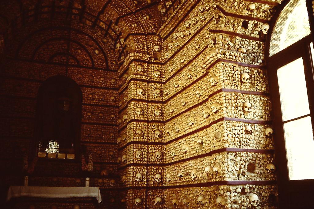 La chapelle de l'église du Carmel - Faro - Portugal. Capela10