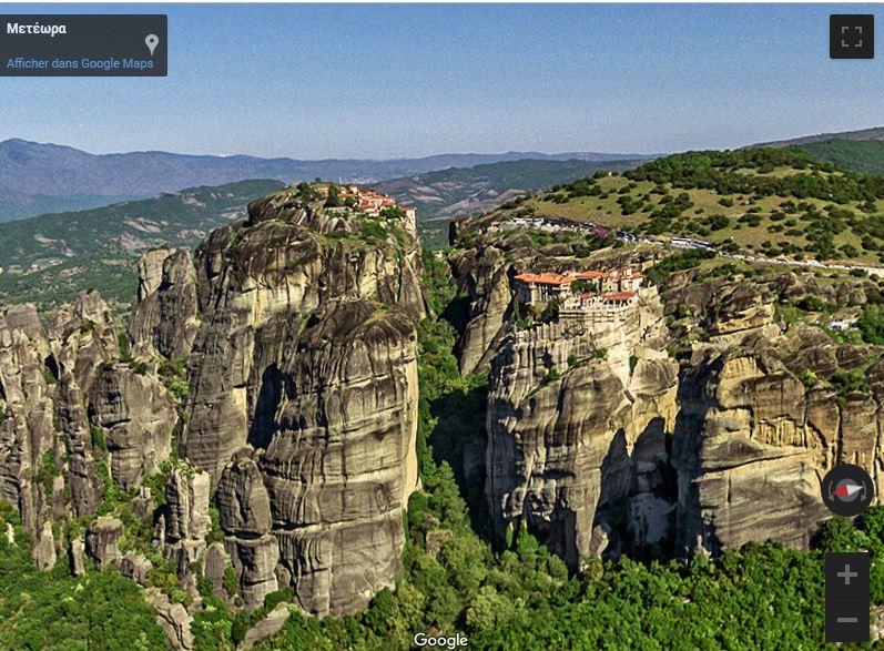 Monastères des météores, Thessalie - Grèce Captur32