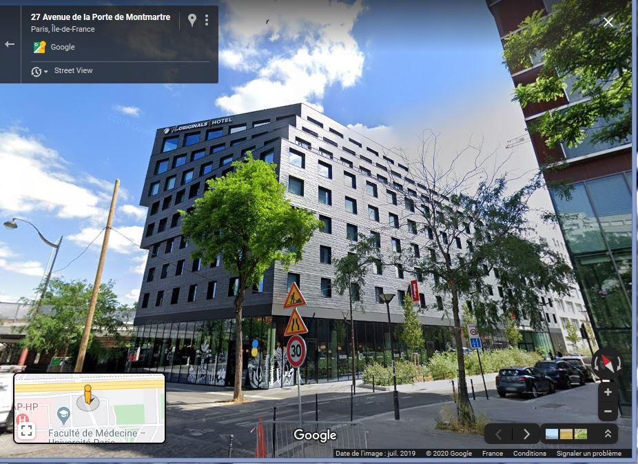 Hôtel un peu tourmenté...Paris. Captur50