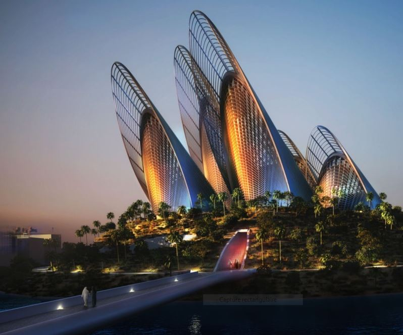 """(Bientôt dans G.E.) Le """" Zayed National Museum"""" - Abu Dhabi - Emirats Arabes Unis. Captur59"""