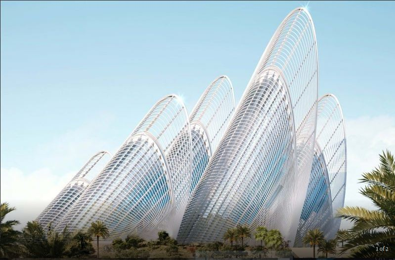 """(Bientôt dans G.E.) Le """" Zayed National Museum"""" - Abu Dhabi - Emirats Arabes Unis. Captur60"""