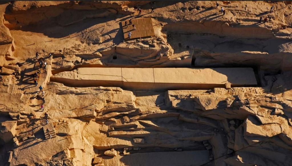 Obélisque inachevé - Assouan - Egypte Captur69