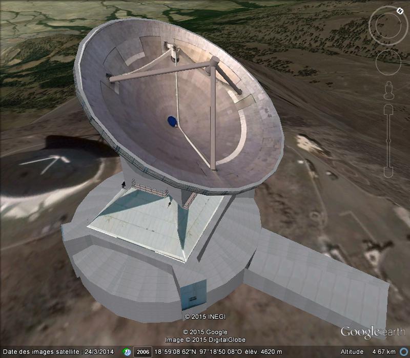 [Mexique] - Grand télescopio Milimétrico Da12