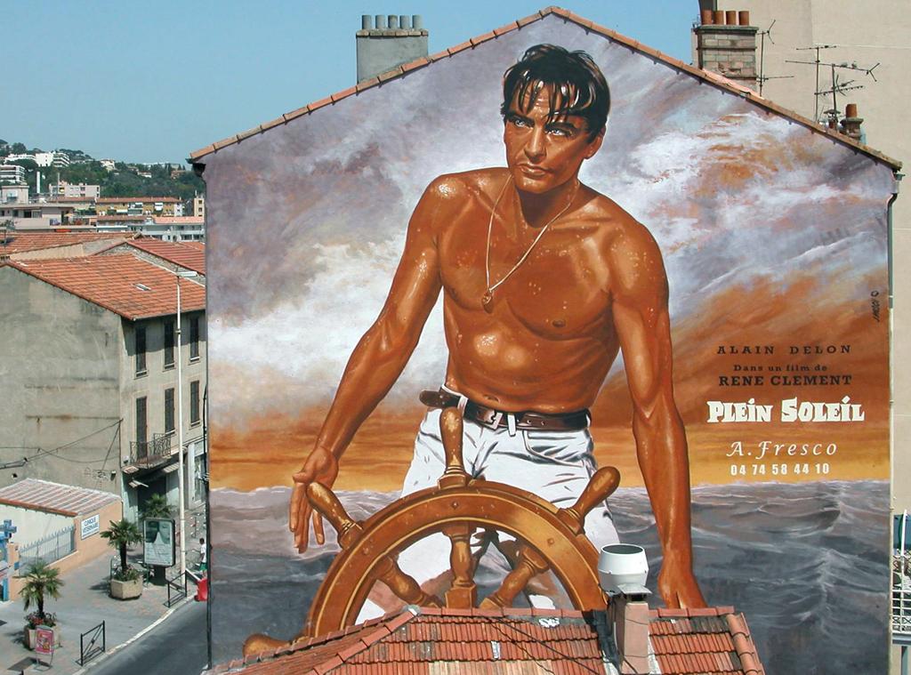 STREET VIEW : les fresques murales en France - Page 24 Delon-10