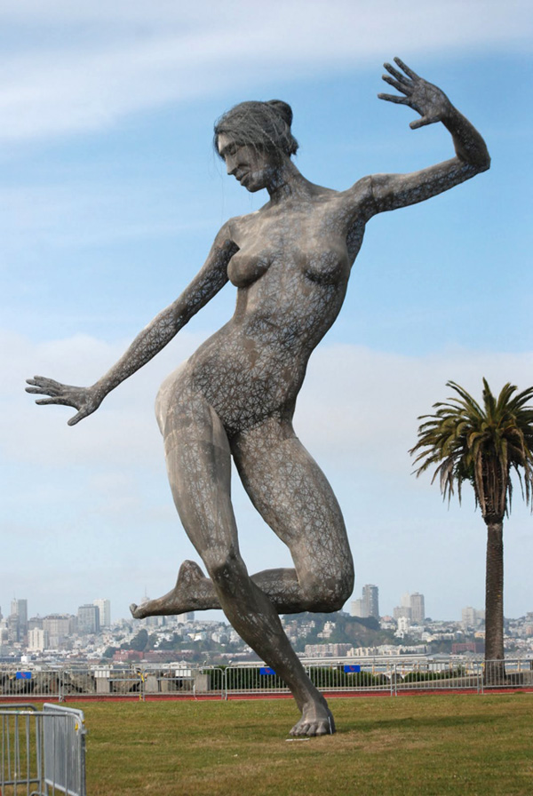 Sculpture Bliss Dance (Marco Cochrane) à San Francisco - USA Dsc_8710