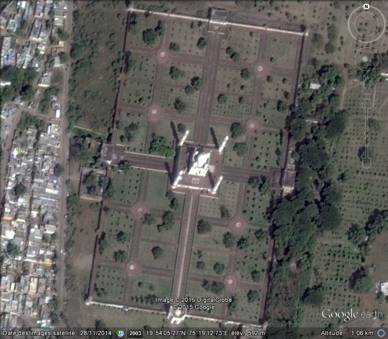 Bibi Ka Maqbara, l'autre Taj Mahal - Aurangabad - Inde Ge_bib10