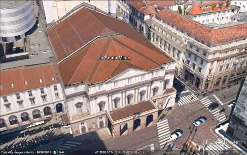 Il Teatro alla scala - Milan - Italie. Ge_la_11