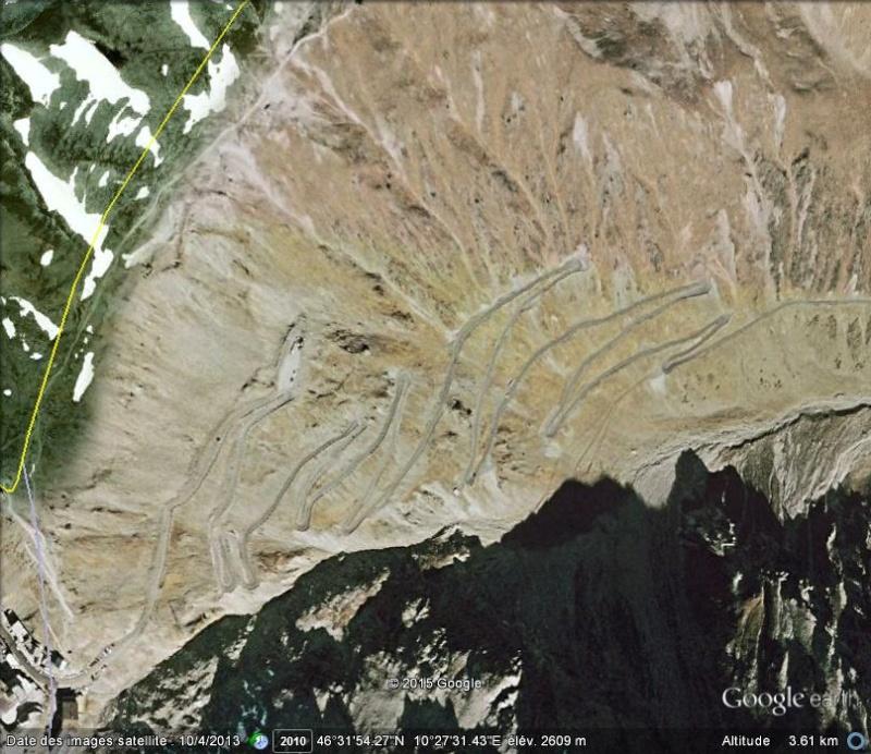 Les lacets de Passo Stelvio - Italie Ge_pas10