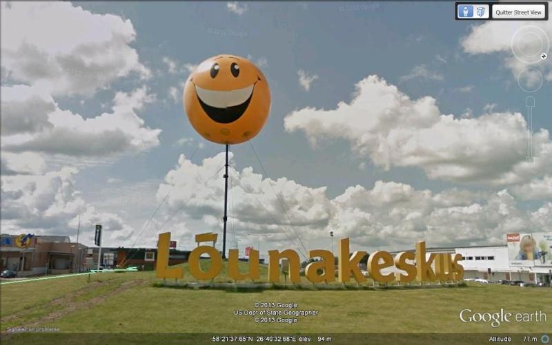 Ballon Smiley - Centre commercial - Tartu - Estonie Ge_smi10