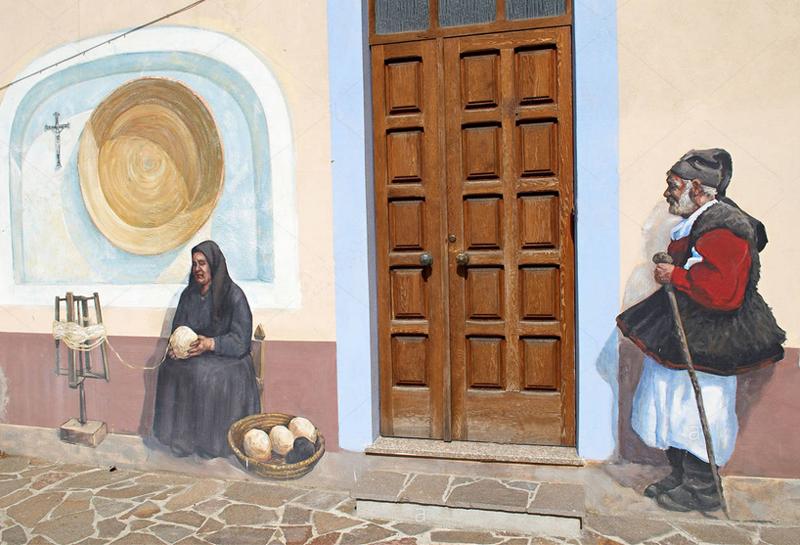STREET VIEW : Peintures murales de l'île de Sardaigne - Italie. Image_13