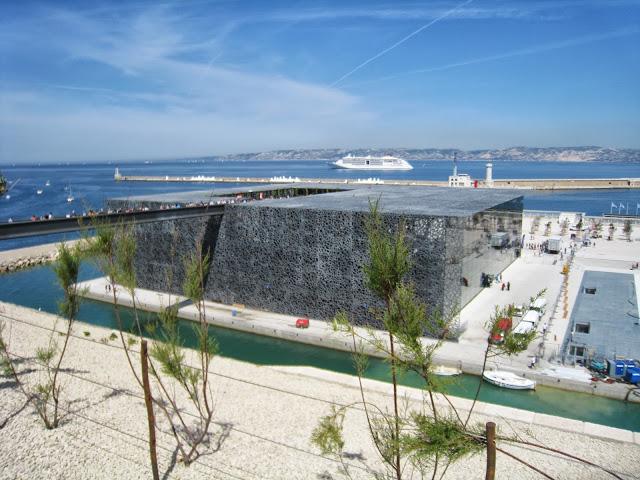 [Désormais visible sur Google-Earth] Le MuCEM - Marseille - France Img_3413