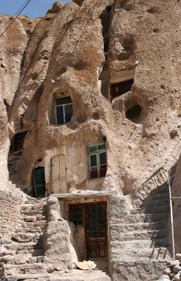 Les habitations troglodytes de Kandovan- Iran Iran_010
