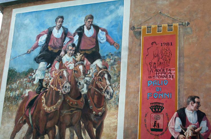 STREET VIEW : Peintures murales de l'île de Sardaigne - Italie. La-pei10