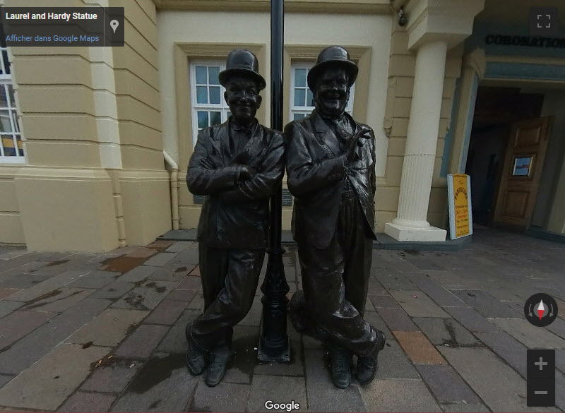 Laurel et Hardy à Ulverston - UK Laurel10
