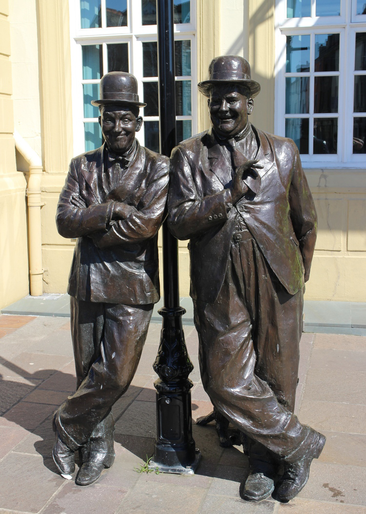 Laurel et Hardy à Ulverston - UK Laurel11