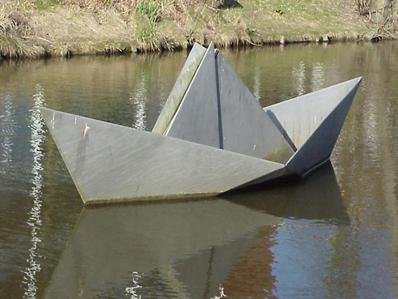 """Le """"Papirbåd"""" - Odense - Danemark Mvc-4110"""