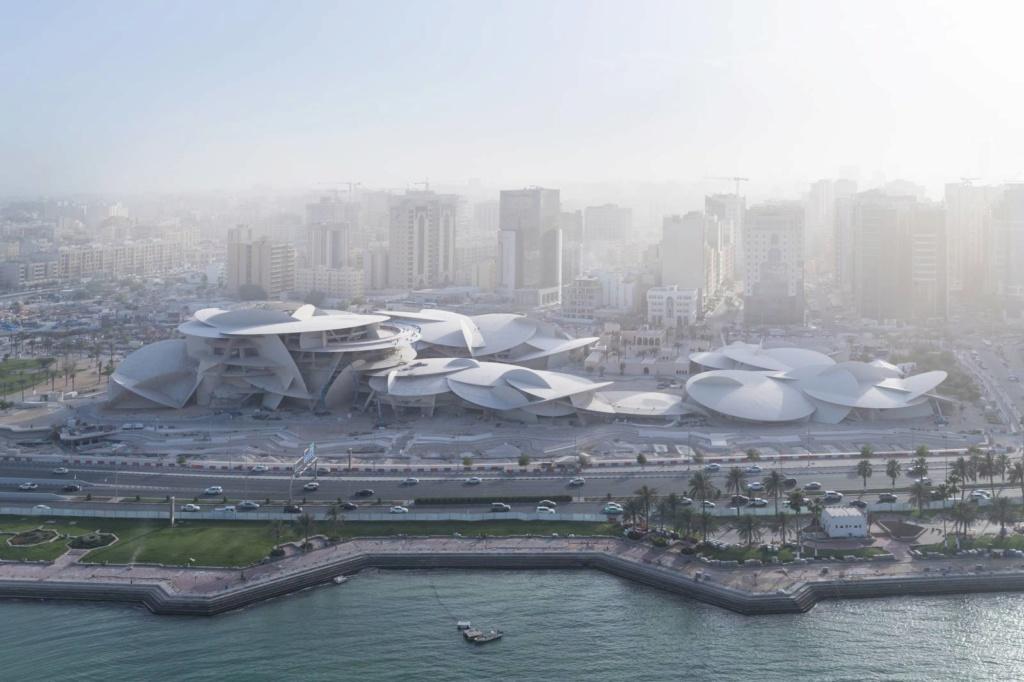 L'extraordinaire Musée National du Qatar - Doha Nmoq-110
