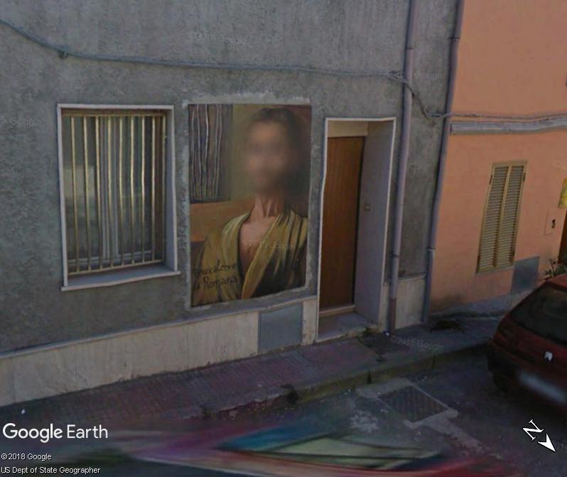 STREET VIEW : Peintures murales de l'île de Sardaigne - Italie. Romana12