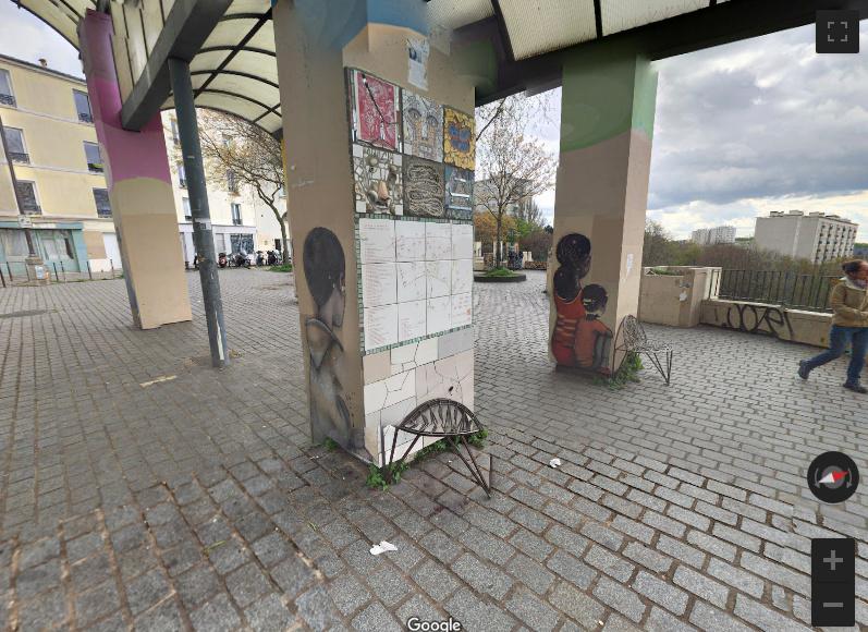 Le Street Art du Parc de Belleville - Paris Screen13