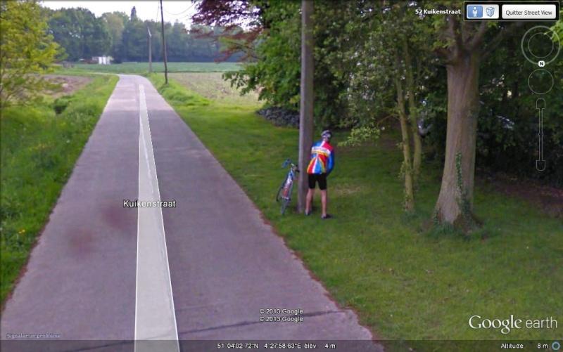 STREET VIEW - Un pipi au bord de la route - Walem - Belgique Ssss10