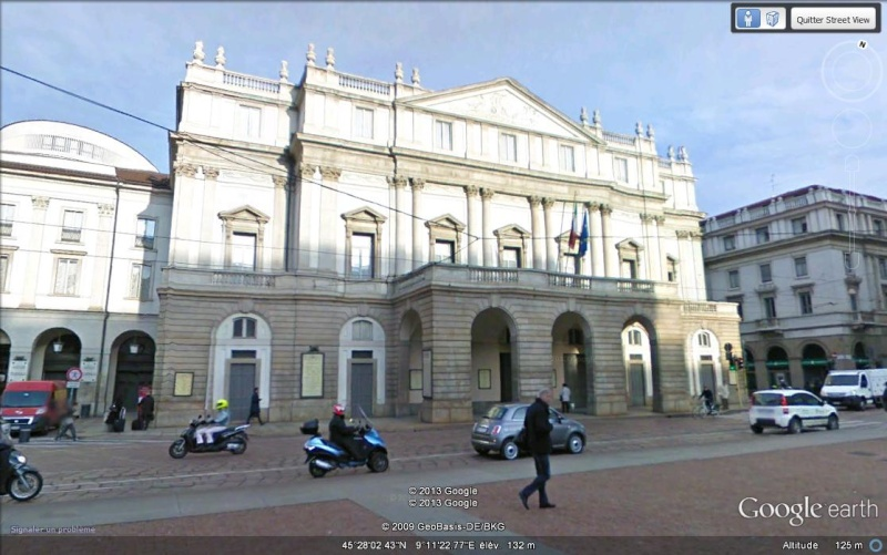 Il Teatro alla scala - Milan - Italie. Svbbbb12