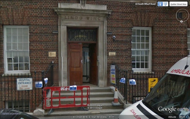 St Mary's Hospital, Lindo Wing - Londres (Kate et William) Svvv13