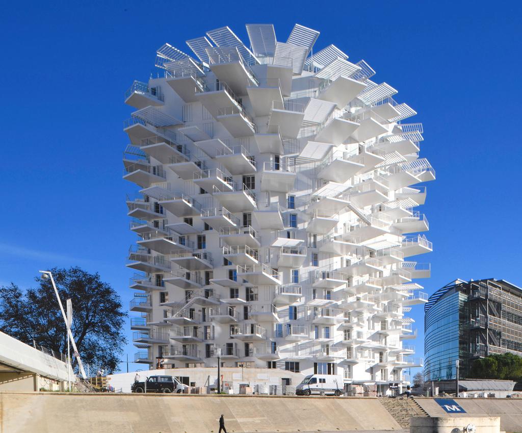 """(Bientôt visible sur G.E.) L'immeuble """"L'arbre Blanc' à Montpellier Vignet10"""