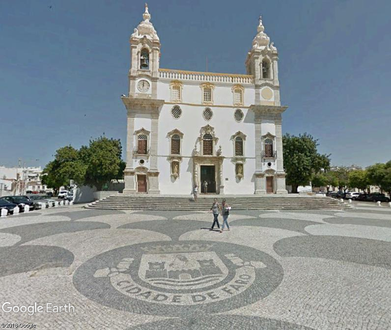La chapelle de l'église du Carmel - Faro - Portugal. Wdd110