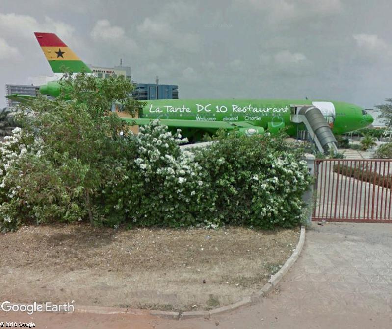 Le DC 10 restaurant d'Accra - Ghana Www118