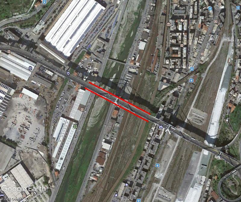 ACTUALITE : Le pont Morandi à Gènes (autoroute A10) s'est écroulé Www42