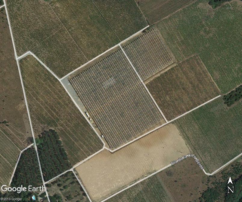 la première centrale agri-voltaïque est en France. Www87