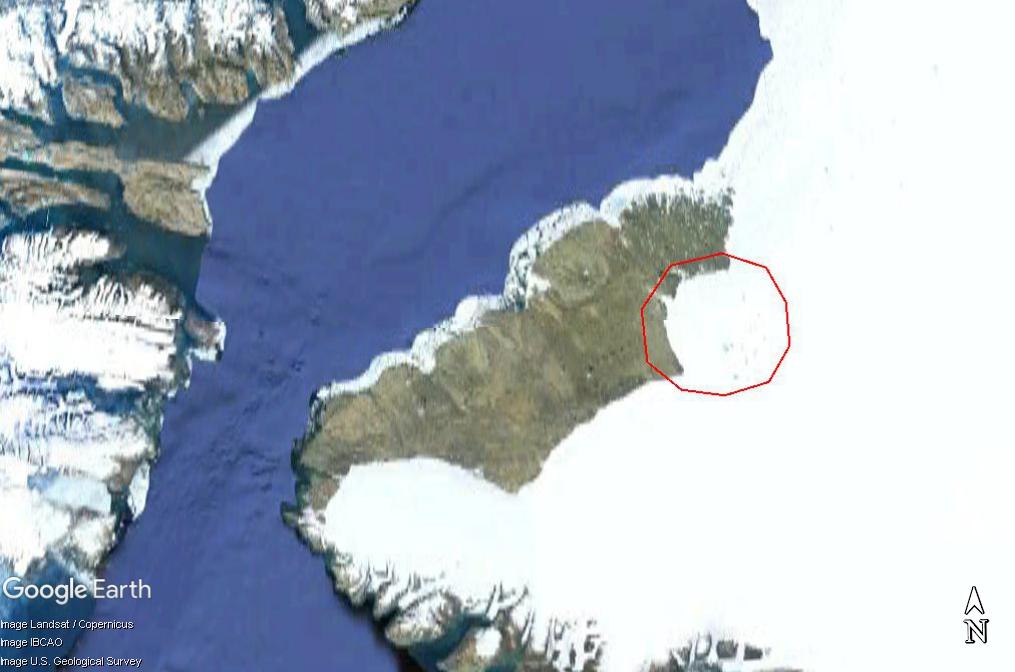 Un cratère sous la glace du Groenland? Www89