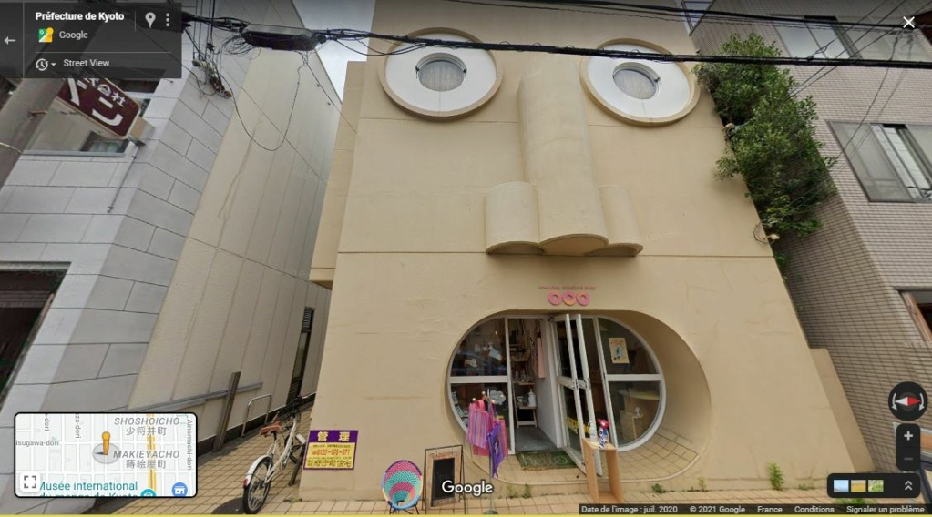 """Une Maison """"qui a de la gueule""""... - Kyoto - Japon Z1015"""