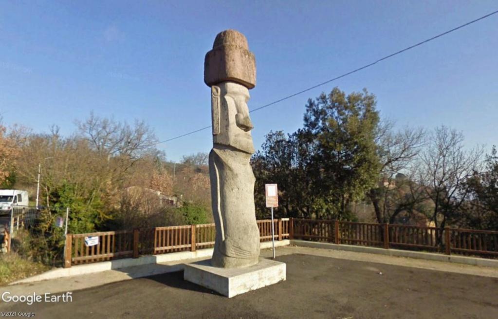 Le Moai de Vitorchiano - Italie Z1026