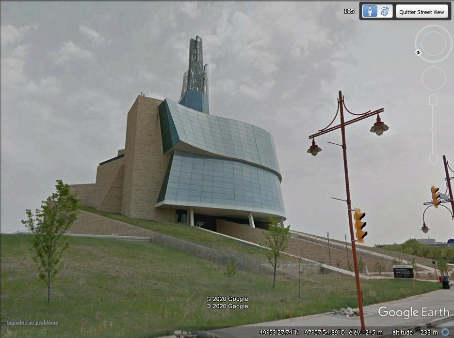 Le Musée canadien des droits de la personne - Winnipeg - Canada Z114