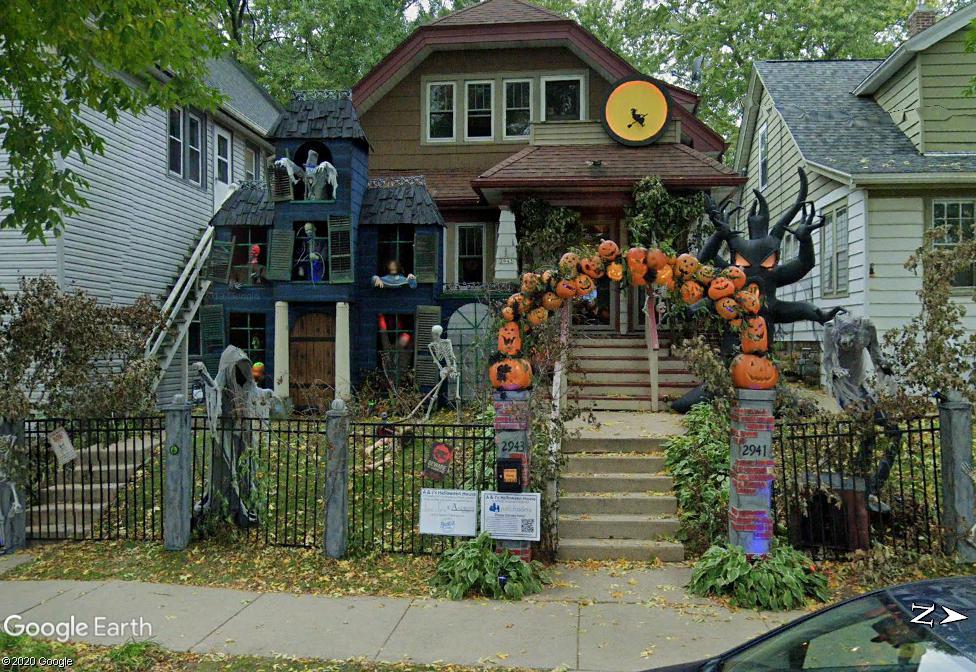 Maison Halloween - Milwaukee - Wiskonsin Z120