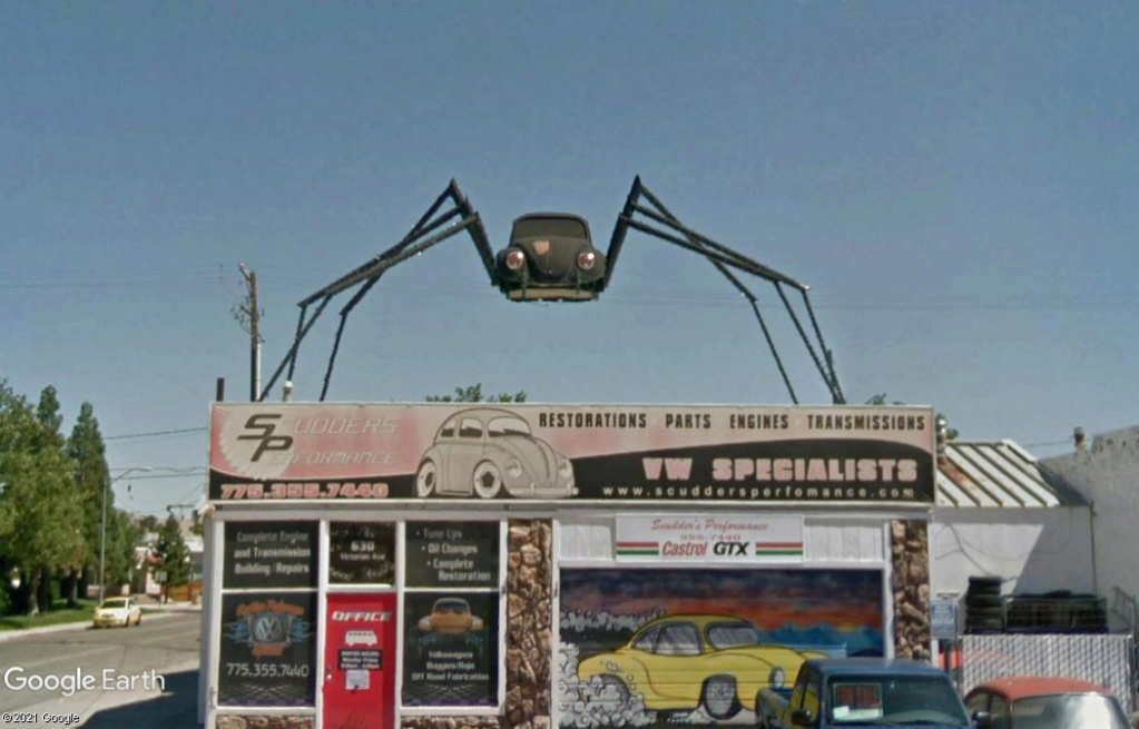La New Beetle VW à Sparks - Nevada - USA Z1514
