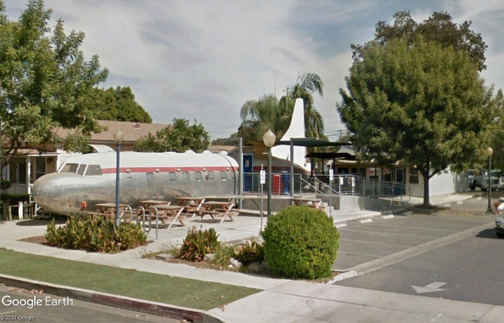 Restaurant à Tulare - Californie - USA Z1610