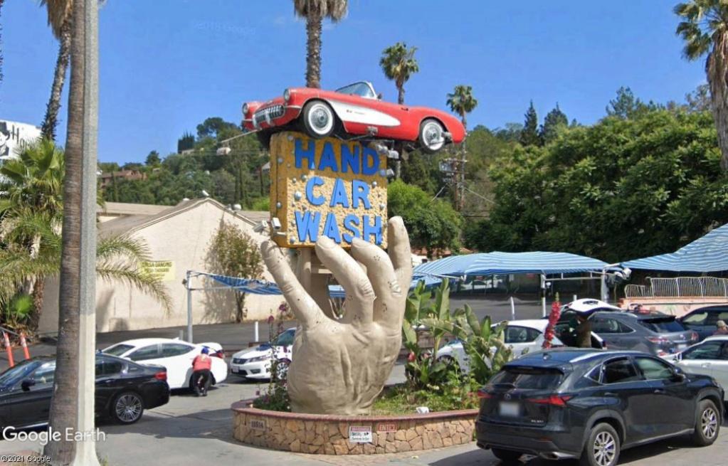 Station de lavage pour voitures - Los Angeles - Californie Z1612