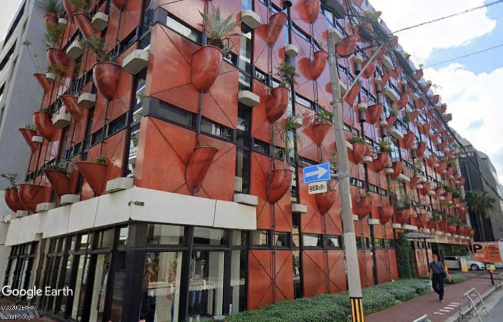 Un immeuble qui se veut écologique? - Osaka - Japon Z1710