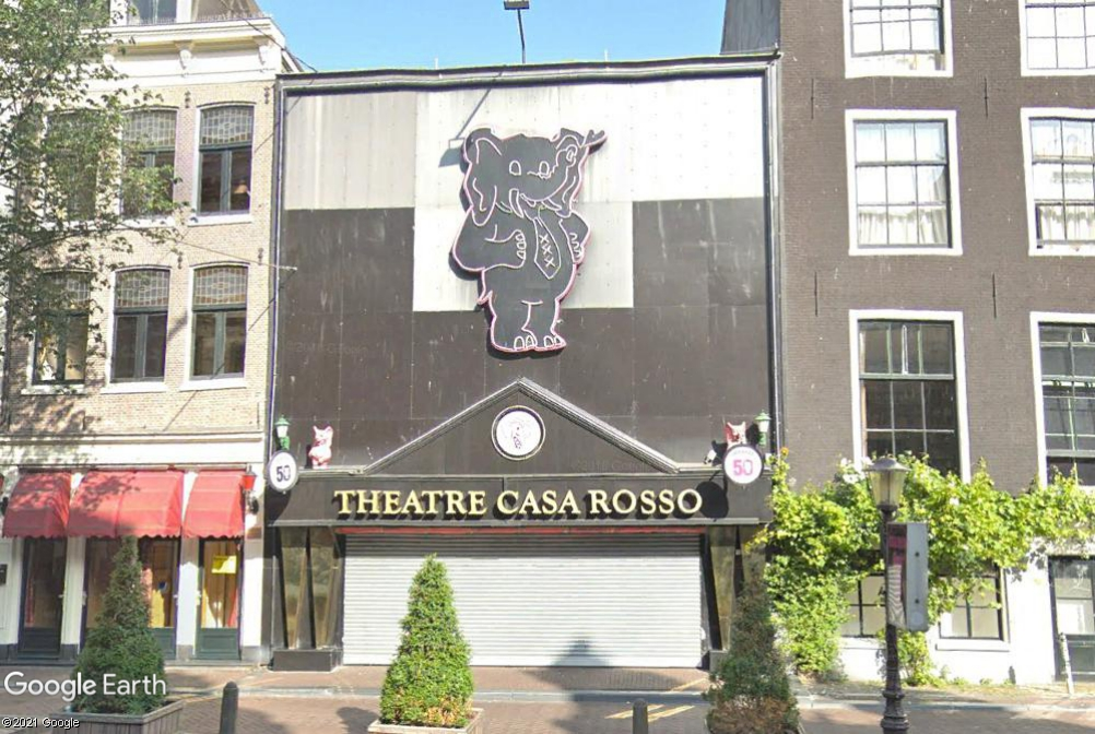 Theatre Casa Rosso - Amsterdam - Hollande Z1712